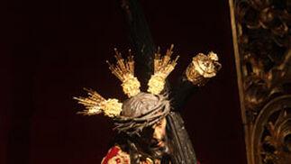 El Señor de las Tres Caidas de San Isidoro.  Foto: A.S.Carrasco