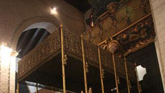 El palio de la Virgen de Loreto.  Foto: A.S.Carrasco
