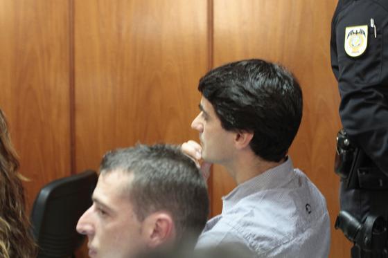 Jesulín de Ubrique, en el interior de la sala de la Audiencia donde se celebra el juicio./Fotos:Joaquín Pino/Lourdes de Vicente  Foto: Joaquin Pino / Lourdes de Vicente
