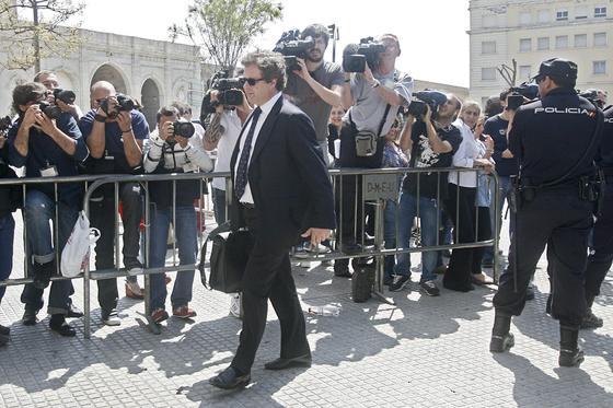 El juicio de la Operación Karlos ha generado una gran expectación mediática, congregando a casi un centenar de periodistas./Fotos:Joaquín Pino/Lourdes de Vicente  Foto: Joaquin Pino / Lourdes de Vicente