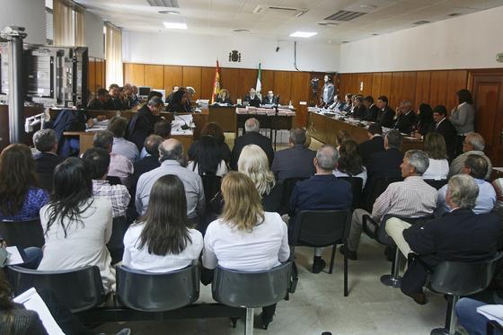 Imagen del interior de la sala donde se está celebrando el juicio./Fotos:Joaquín Pino/Lourdes de Vicente  Foto: Joaquin Pino / Lourdes de Vicente