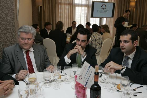 José Carlos Dopico, concejal de Seguridad Vial, Mariano López, jefe de prensa de Gádor, y Ramón Fernández, del área de Asuntos Sociales.  Foto: J. Alonso/ R. Gonzalez