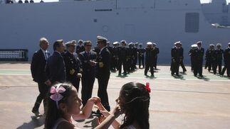 Navantia entrega el primero de los cuatro Patrulleros Oceánicos de Vigilancia que fabrica para la Armada Venezolana.   Foto: Borja Benjumeda