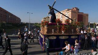 Nuestro Padre Jesús de la Salud y Clemencia de Palmete.  Foto: Juan Carlos Muñoz