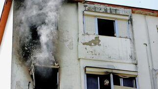 El fuego se inició en un dormitorio con gran cantidad de ropa almacenaba  Foto: Pascual