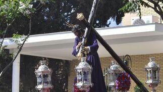 El Nazareno del Divino Perdón, de Alcosa.  Foto: Manuel Gómez