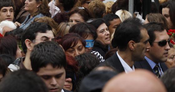 Traslado del Cautivo por las calles de Málaga  Foto: Sergio Camacho