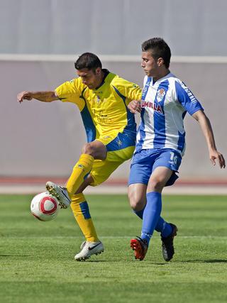 Enrique es el máximo goleador del Cádiz esta temporada.   Foto: LOF
