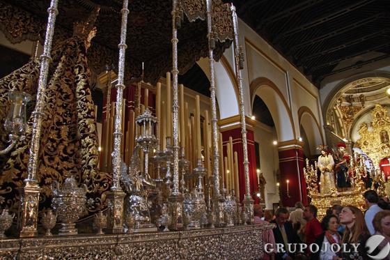 Interior de San Juan de la Palma.  Foto: Belén Vargas