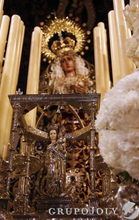 Virgen de la Hiniesta.  Foto: Belén Vargas