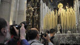 La Virgen de las Mercedes de Pasión.  Foto: Juan Carlos Vázquez
