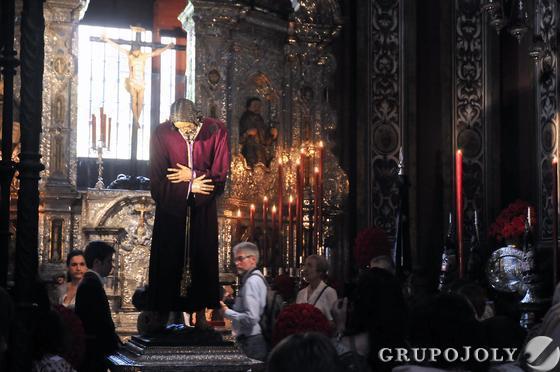 El señor de Pasión.  Foto: Juan Carlos Vázquez