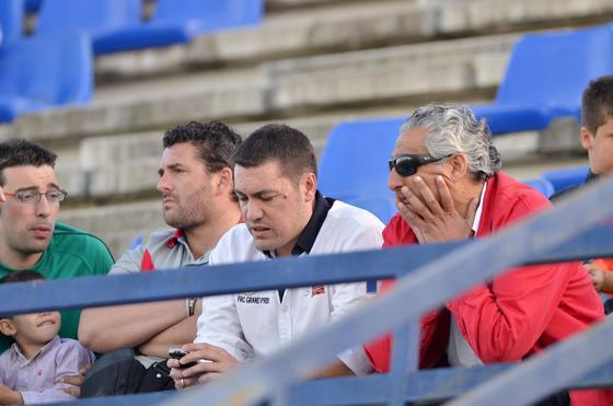 El conjunto jerezano pagó con una goleada de su adversario su mal juego en un partido en el que se mostró dormido de principio a fin  Foto: Manuel Aranda