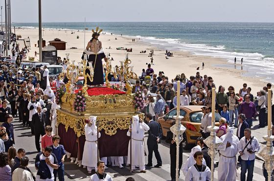 Salida procesional de Jesús Despojado.   Foto: Julio Gonzalez