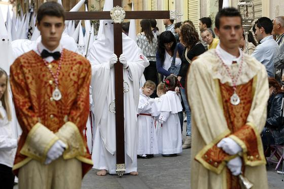 Salida de la Sagrada Cena del Convento de Santo Domingo.   Foto: Jose Braza
