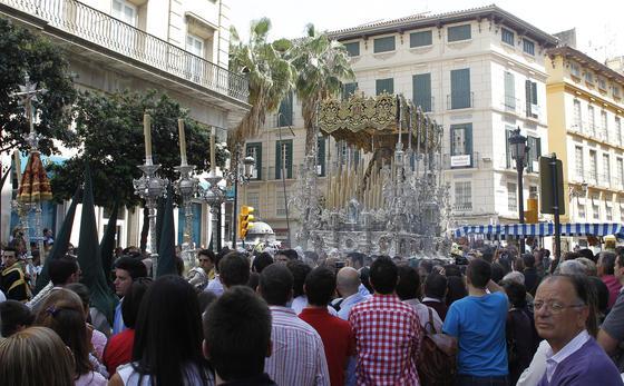 El buen tiempo acompaña a las procesiones en este primer día de Semana Santa  Foto: Sergio Camacho