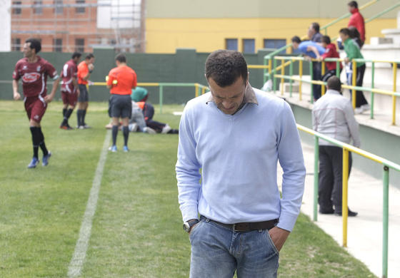 La Unión certifica el descenso tras perder por dos goles a tres con el Puerto Real, que marcó el gol de la victoria en el minuto 93./Fotos:Erasmo Fenoy  Foto: Erasmo Fenoy