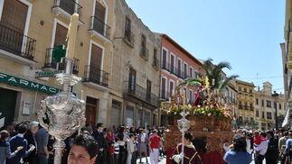 La Borriquilla en Guadix.  Foto: Ramon Ubric