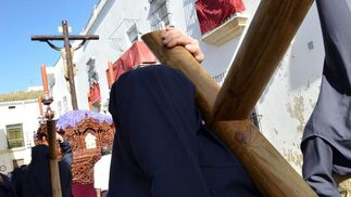 El misterio del Cristo del Perdón por la calle Visitación.  Foto: Manuel Aranda
