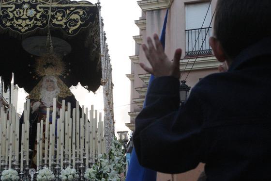 La Estrella deslumbra a los linenses en el Domingo de Ramos./Fotos:Paco Guerrero  Foto: J.M.Q./Paco Guerrero/Shus Teran/Erasmo Fenoy