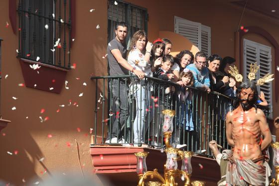 Jesús de la Flagelación procesionó también por las calles de La Línea./Fotos:Paco Guerrero  Foto: J.M.Q./Paco Guerrero/Shus Teran/Erasmo Fenoy