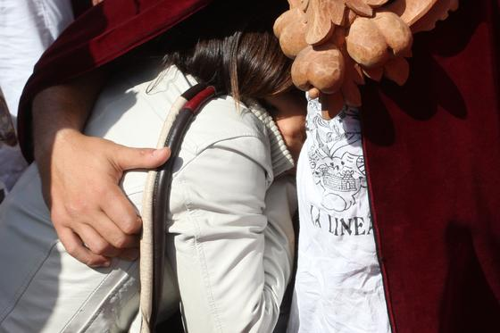 Jesús realiza su entrada triunfal con palmas y alegría en La Línea./Fotos:Paco Guerrero  Foto: J.M.Q./Paco Guerrero/Shus Teran/Erasmo Fenoy