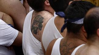 La cofradía de La Palma se reencontró con sus fieles tras el chasco del año pasado.   Foto: Julio Gonzalez