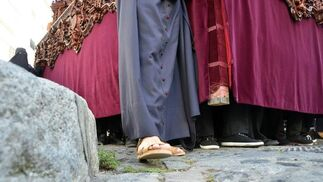 El discurrir por las calles del casco viejo.  Foto: Manuel Aranda