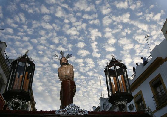 La oración en el Huerto.  Foto: Alvaro Carmona