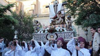 La Hermandad de la Pasión, en Lucena. / A.R. Yébenes