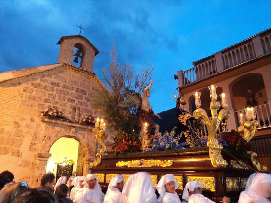 Jesús Orando en el Huerto de Loja  Foto: Matas