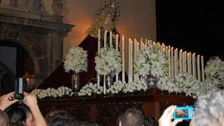 La Virgen del Mayor Dolor en Motril  Foto: R. Fernandez