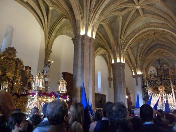 Hermandad de la Santa Vera Cruz de Aracena. /Javier Moya