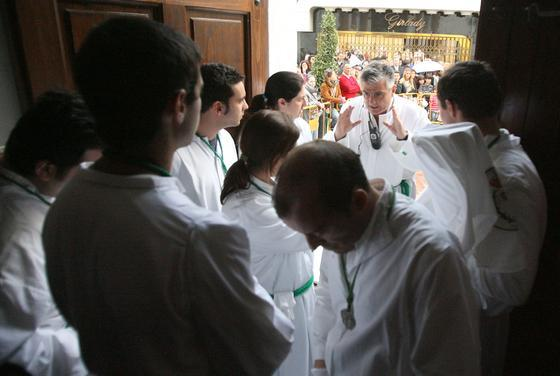 La Oración. /Josué Correa
