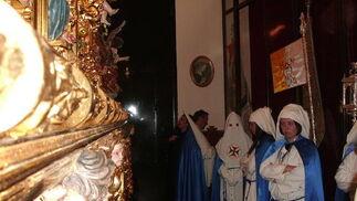 Penitentes de El Cautivo de Isla Cristina. /Begoña Flores