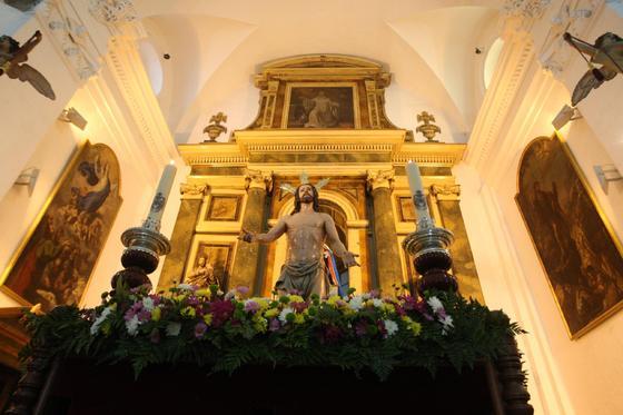 El Resucitado de San Roque./E.S.  Foto: Erasmo Fenoy/Paco Guerrero/E.S.
