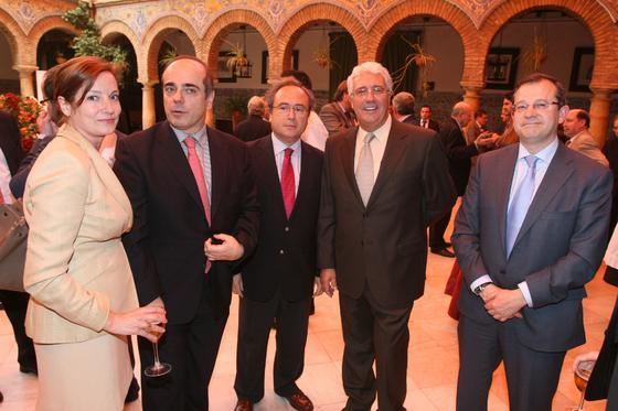 Anabel Carrillo, Francisco Trigueros, Antonio Díaz y Jesús Díaz-Laso.