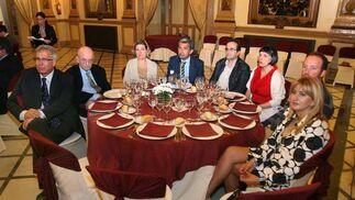 I. Cabeza, L. Fernández, R. Colmenarejo, J. F. Navarro, E. Núñez, M. D. González, J. Loring y J. M. Lobela.