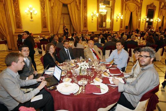 ============Pie de Foto(12093600)============ G. Ruiz, A. Calero, V. Molino, M. Galán, L. García, S. Rubio, D. Román y P. Day.
