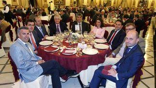 A. Galindo, J. M. del Arco, J. Ruz, M. Fernández, J. L. Arranz, J. Hernando, A. Arroyo, Á. Alcántara y J. Pérez.