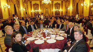 Mesa presidencial del Foro Joly Andalucía.