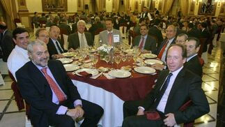 F. Agüesa, J. C. Romero, V. Serrano, R. Lovera, R. Passo, V. Priego, J. Díaz, M. Á, Tamarit, A. Díaz, J. L. rodríguez y J. M. Santiago.