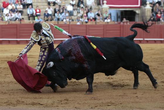 Alberto Aguilar cerró la tarde.  Foto: Juan Carlos Muñoz