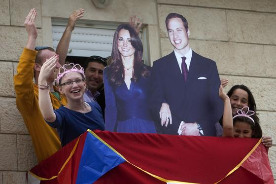 El Reino Unido se prepara para la boda del príncipe Guillermo y Kate Middleton.  Foto: AFP Photo