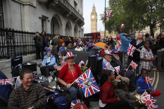 El Reino Unido se prepara para la boda del príncipe Guillermo y Kate Middleton.  Foto: Reuters