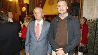 El director de Estigades, Jesús Rodríguez, y el de Pérez & Cía, Víctor Gómez.  Foto: Jose Braza