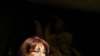 La periodista Inmaculada Jabato durante su intervención  Foto: Erasmo Fenoy