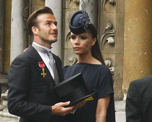 David y Victoria Beckham, siempre marcando estilo.  Foto: Reuters