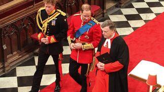 Dentro de la Abadía de Westminster.  Foto: Reuters