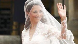 Kate saluda al público.  Foto: Reuters